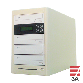DVDデュプリケーター R3-LBW(日本語表示)