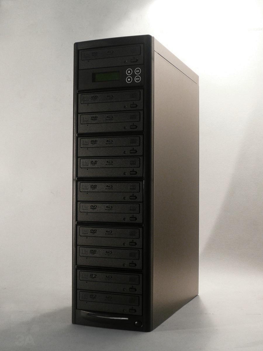 ブルーレイデュプリケーターBD-SP11+HDDパイオニアドライブ搭載(日本語表示)