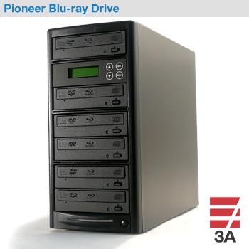 ブルーレイデュプリケーターBD-SP5+HDD1TB パイオニアドライブ搭載(日本語表示)