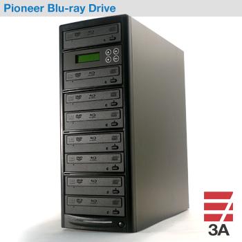 ブルーレイデュプリケーターBD-SP7+HDD1TB パイオニアドライブ搭載(日本語表示)
