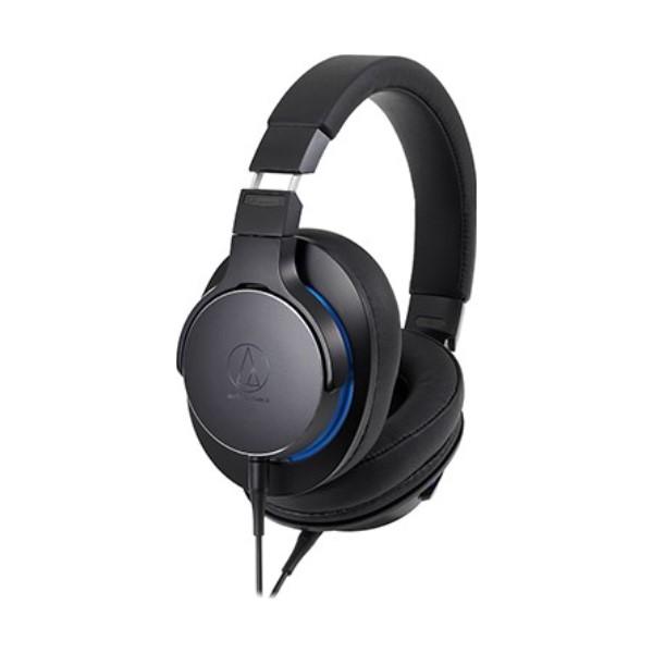 【送料無料】オーディオテクニカ ハイレゾ対応 ポータブルヘッドホン ブラック ATH-MSR7bBK