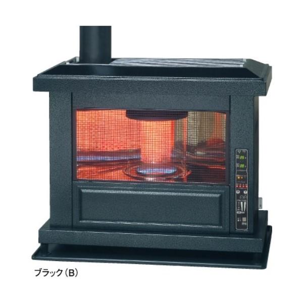 【送料無料】トヨトミ 煙突式アンティークストーブ  ブラック 壁置きタイプ 木造17畳/コンクリート27畳 HR-K650F-B