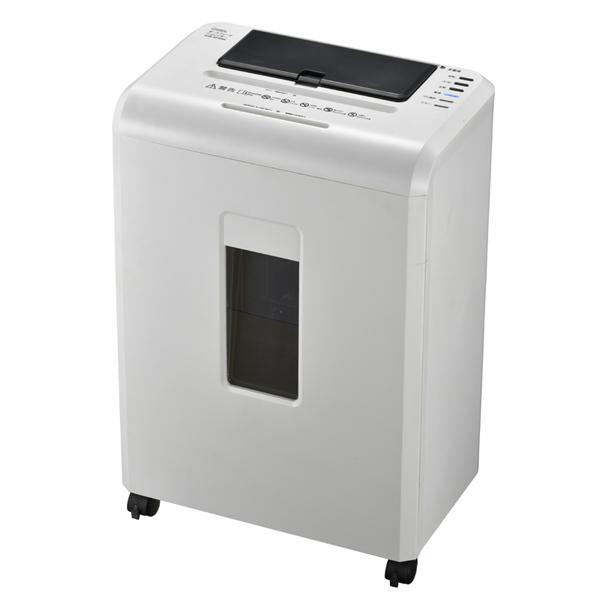 ポイント5倍!【送料無料】OHM オートフィードマイクロカットシュレッダー オフィス用シュレッダー A4対応 ホワイト SHR-AF606C