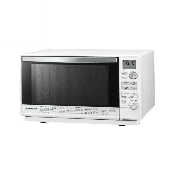 ポイント5倍!【送料無料】シャープ オーブンレンジ 26L 1段調理 ホワイト RE-V90A-W