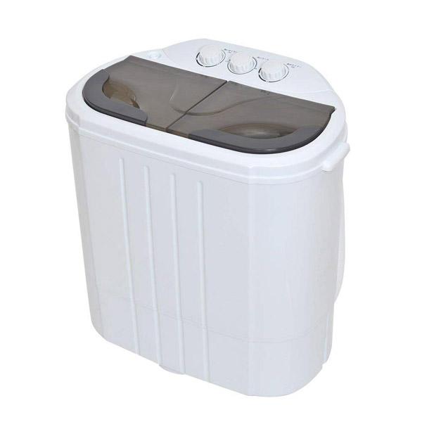 ポイント5倍!【送料無料】サンコー 小型 二槽式洗濯機 別洗いしま専科2 ミニ洗濯機 RCWASHR4 介護 育児 ペット 一人用 洗濯機