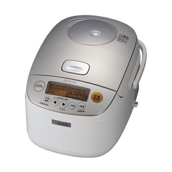 【送料無料】象印 圧力IH炊飯ジャー 極め炊き 1升炊き ホワイト NP-BG18-WA