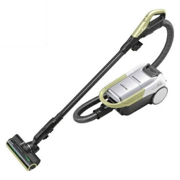 ポイント5倍!【送料無料】シャープ コードレスキャニスター 紙パック式掃除機 イエロー EC-AP500-Y
