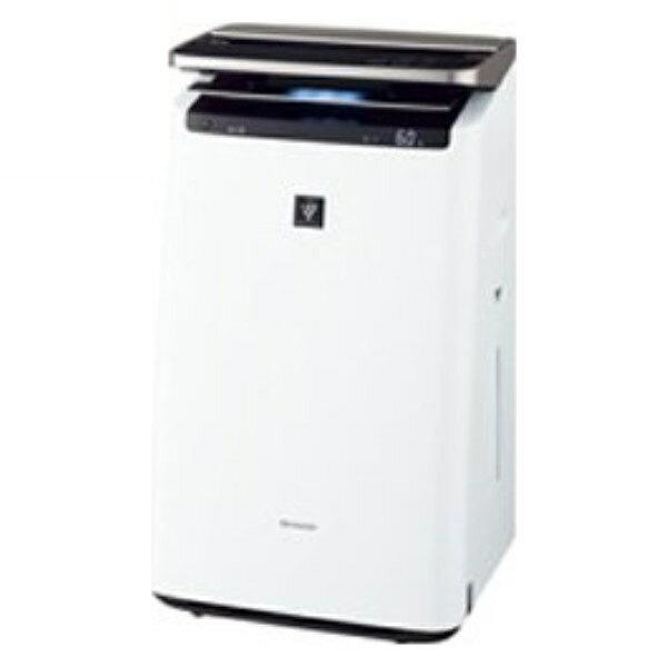 \エントリー&カードでポイント7倍/【送料無料】シャープ プラズマクラスター 加湿空気清浄機 23畳 ホワイト プラズマクラスターNEXT KI-HP100-W