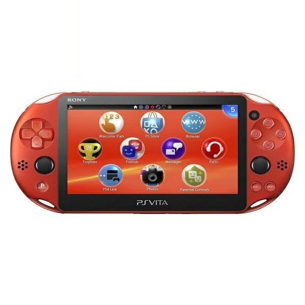【送料無料】SIE プレイステーション Vita PSV2000 Wi-Fiモデル メタリックレッド PS Vita/本体/新品 PCH-2000ZA26 【お一人様一台限り】