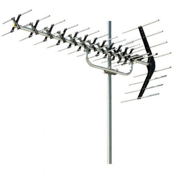 Rカードでポイント5倍!【送料無料】日本アンテナ 高性能ローチャンネル用UHFアンテナ 弱電界地区用 AU14LX