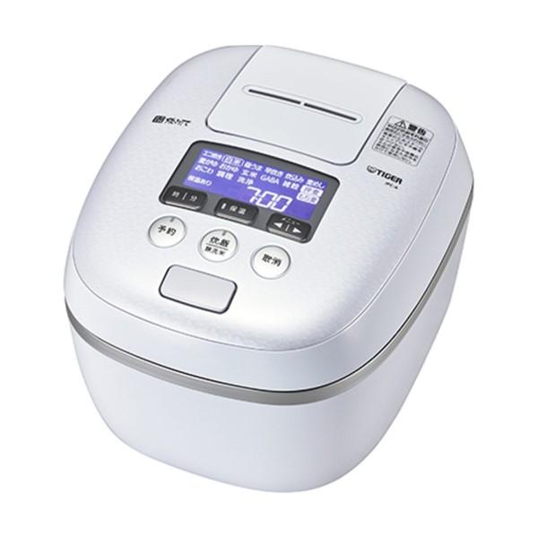 【送料無料】タイガー 圧力IH炊飯ジャー 1升炊き 炊きたて 熱流&熱封土鍋コーティング アーバンホワイト JPC-A182-WE