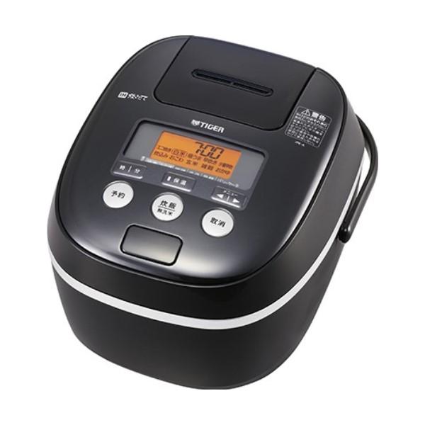 ポイント5倍!【送料無料】タイガー IH炊飯ジャー 5.5合炊き 炊きたて ブラック JPE-A101-K
