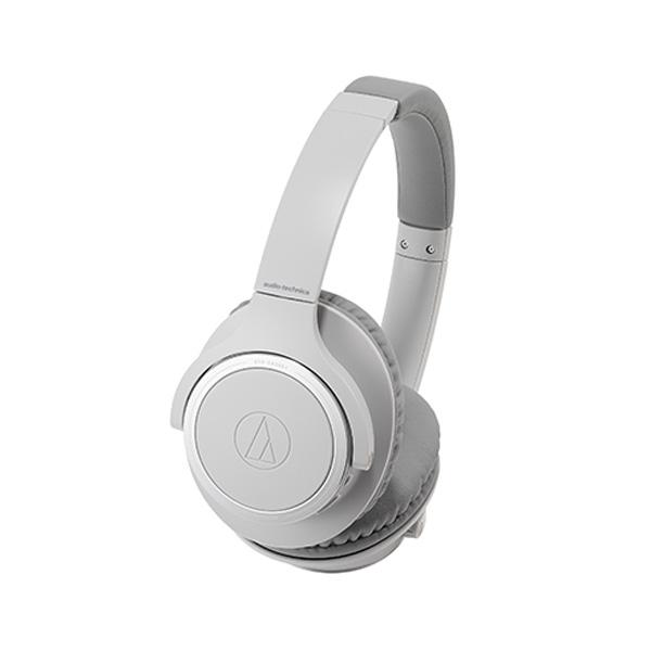 ポイント5倍!【送料無料】オーディオテクニカ Bluetooth ワイヤレスヘッドホン グレー SoundReality ATH-SR30BTGY