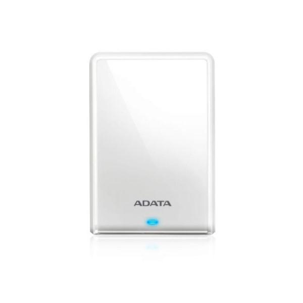 【送料無料】ADATA ポータブルハードディスクドライブ 外付けHDD 2TB ホワイト USB3.2 Gen1対応 11-0192 AHV620S-2TU31-CWH