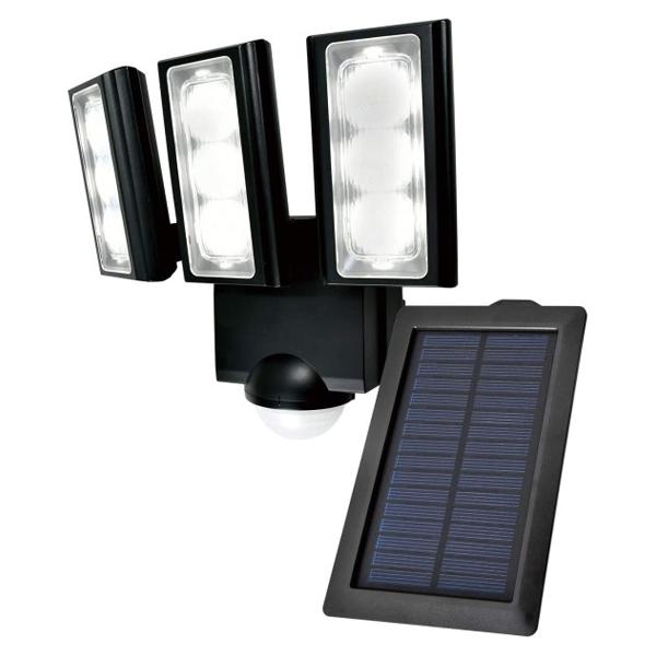 【送料無料】ELPA 屋外用LEDセンサーライト ソーラー式 ESL-313SL 防水 防犯 人感センサー セキュリティ エルパ