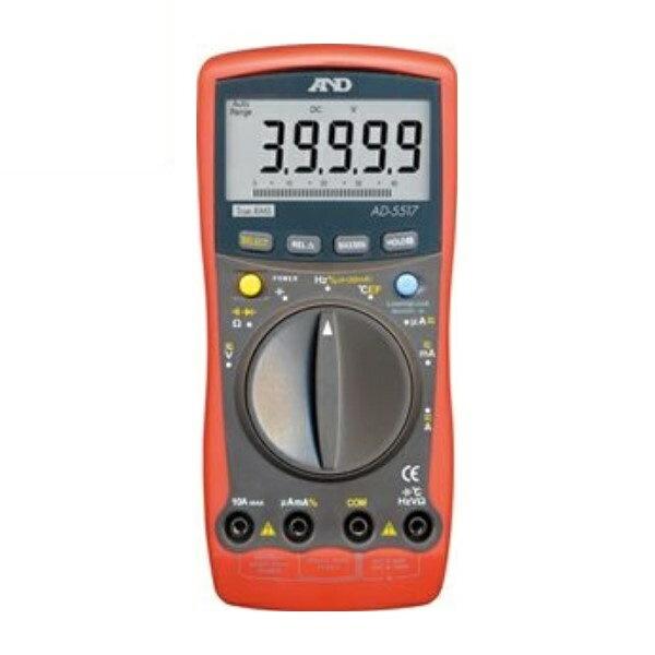 【送料無料】エー・アンド・デイ デジタルマルチメーター AD-5517 測定 計測器具 A&D