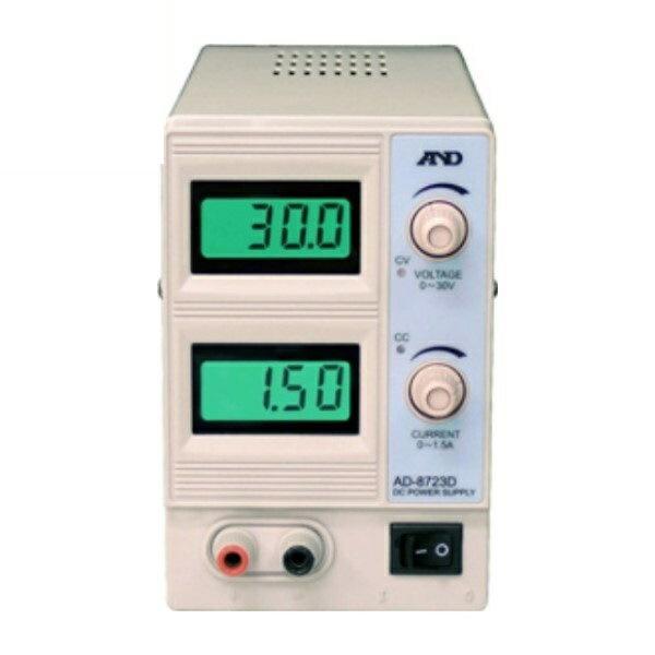 ポイント5倍!【送料無料】エー・アンド・デイ 直流安定化電源 AD-8723D 測定 計測器具 A&D