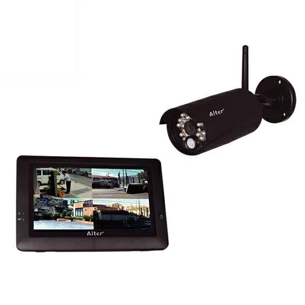 \エントリ&カードポイント12倍/(5%還元含)【送料無料】オルタプラス ハイビジョン無線カメラ&モニターセット AT-8801