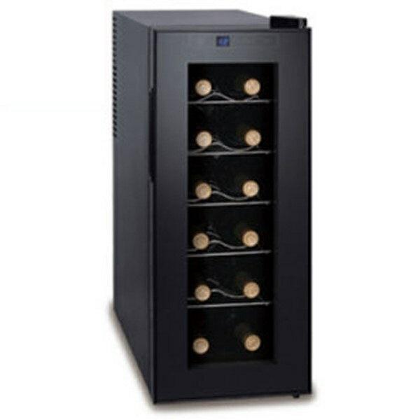 ポイント5倍!【送料無料】家庭用ワインセラー 12本収納 静振動ペルチャ方式 D-STYLIST KK-00237