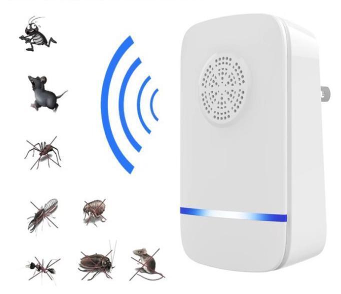 害虫駆除装置 超音波式 超音波害虫駆除器 ネズミ 駆除機 コンセント式 虫除け 360度シャット ゴキブリ 子供やペットにも安心 駆除 アリ 鼠 害虫退治 Seasonal Wrap入荷 虫 害虫対策 大規模セール