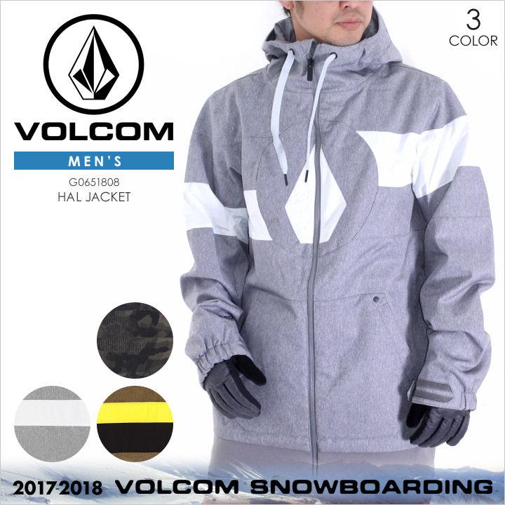 VOLCOM スノーウェア メンズ HAL JACKET 17-18 秋冬 G0651808 カモフラージュ/グレー/ブラウン XS/S/M/LXL