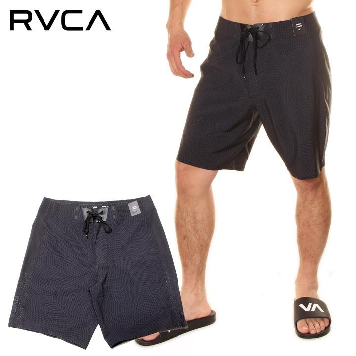 \P10倍 お買い物マラソン限定/ RVCA ルーカ ボードショーツ メンズ COMMANDER TRUNK 2020春夏 ブラック 28/30/32