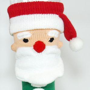 ... The country made in Christmas gentleman socks Santa Claus socks men socks 25-27cm 3D ...