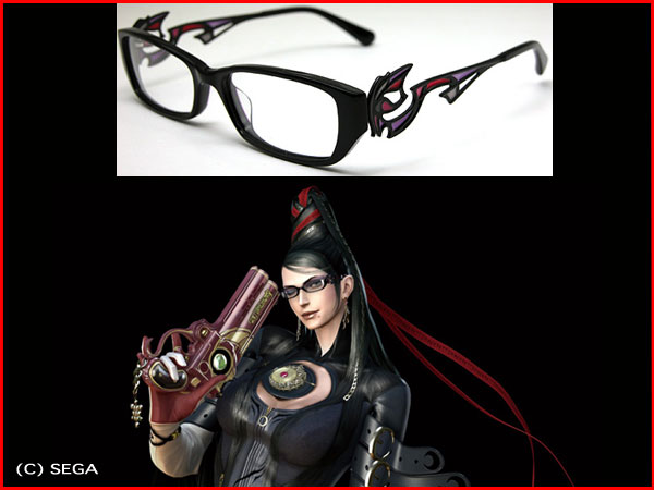 "Bayonetta glasses ""BAYONETTA×Less Than Human' now on sale! Men's sunglasses"