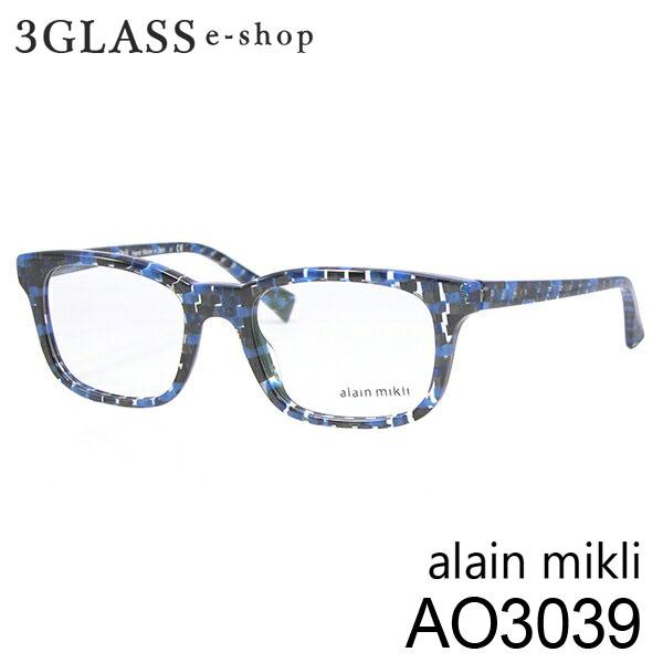 ■alain mikli アランミクリ AO3039 カラー 3043 50mmメンズ メガネ サングラス 眼鏡alainmikli ao3039【店頭受取対応商品】