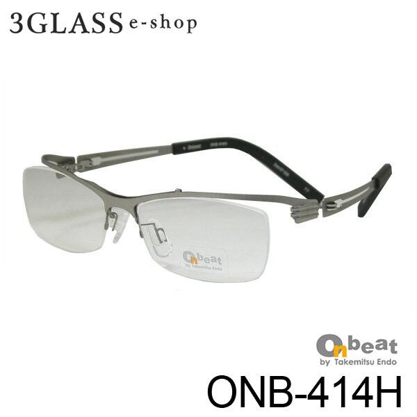 人気シリーズ400番台のナイロールタイプです Onbeat オンビート チープ ONB-414H カラー TI 54mmメンズ メガネ 眼鏡 10%OFF ti 店頭受取対応商品 サングラス onb-414h ギフト対応