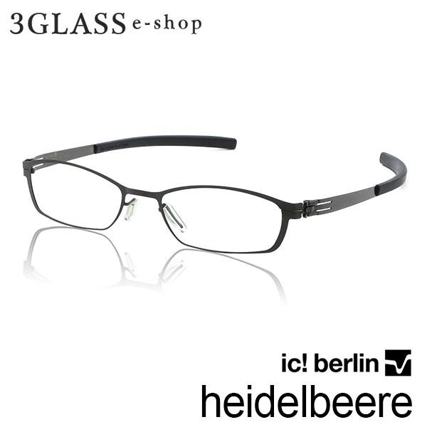 ■ic! berlin heidelbeere_gunmetal(ガンメタル)■ic!berlin アイシーベルリン heidelbeere カラー gunmetal 49mm メガネ 眼鏡 サングラス おしゃれ フレーム 人気