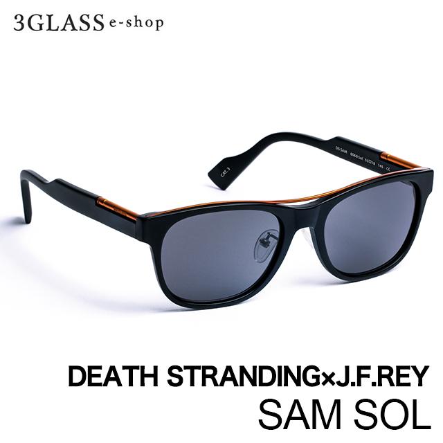「DEATH STRANDING(デスストランディング)」と「J.F.REY」のコラボサングラス DEATH STRANDING×J.F.REYコラボレーションアイウェアSAM SOL 1カラー 0060 53mm ジェイ・エフ・レイ デスストランディングメンズ メガネ サングラス 眼鏡 ギフト対応 【店頭受取対応商品】