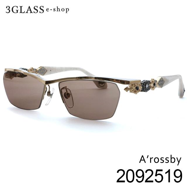 今までに類を見ない存在感と重厚感を兼ね備えたアクセサリー感覚のEye Wear A'rossby ロズビー 209251901 5カラー サイズ ゴールド 春の新作続々 ホワイト ブラウン 55mm ブラック 56mm 57mm シルバー 25%OFF