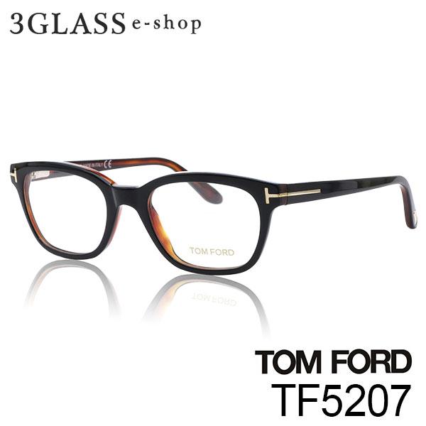 少し小振りで細身が美しいウェリントンタイプ TOM FORD トムフォード TF5207 3カラー 005 047 050 083 tf5207 激安通販 店頭受取対応商品 サングラス ギフト対応 眼鏡 ford 年中無休 tom 49mmメンズ メガネ