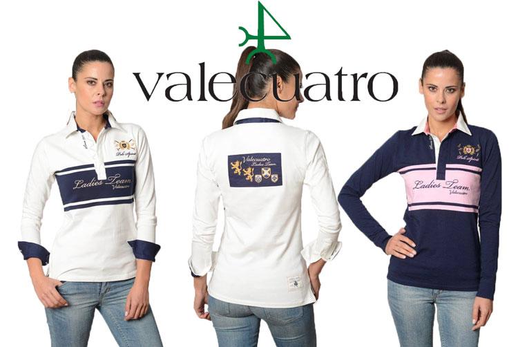 人気商品!Valecuatro/ヴァレクアトロ 乗馬用/長袖ポロシャツ/ラグビーシャツ/テニス/ゴルフ/アウトドア【レディース/LADIES】