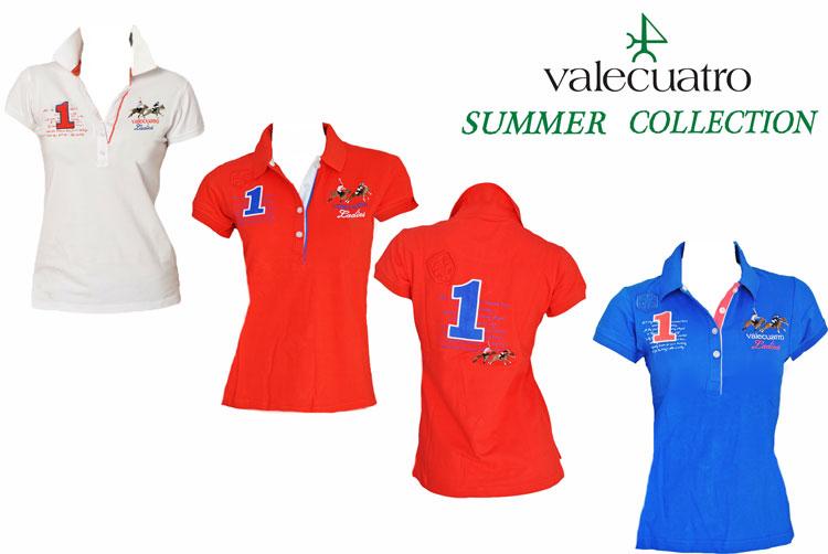 人気商品!Valecuatro/ヴァレクアトロ 乗馬用/半袖ポロシャツ/テニス/ゴルフ/アウトドアレディース/LADIES