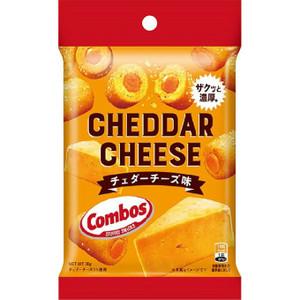 チェダーチーズ味の濃厚なクリームが入ったクラッカ-ー まとめ買いでお買い得 コンボス クラッカー チェダーチーズ味 38g 12袋入 アメリカ 贈与 おつまみに ストックに 定番のおいしさ 買い取り 輸入菓子 サクサクのクラッカーに濃厚チーズ