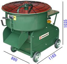 大注目 エンジンミキサーモルタル3.5切 マゼラー PM-35E:3休TOOL店 (100L)用-産業用大型機器