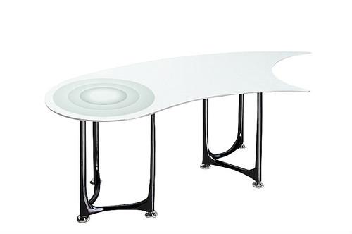MID ノフュレシリーズハイテーブル Ku-White-Side※代引き不可商品です運搬設置費用が別途かかります