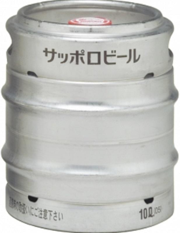 開店祝い 酒 当店限定販売 ビール イベント BBQ 日本 お中元 生樽 10000ml K サッポロ お歳暮 パーティ