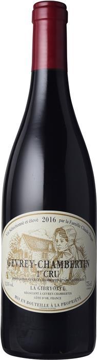 ラ ジブリオット ジュヴレ シャンベルタン プルミエ クリュ 750ml 13.50度 フランス 赤 MO