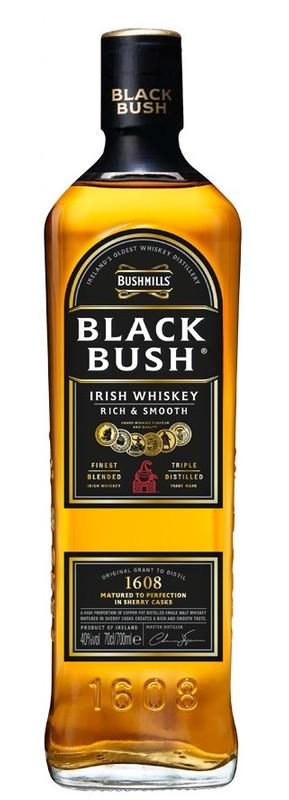 プレゼント お酒 アイリッシュ メーカー在庫限り品 宅飲み 買物 お祝い お中元 ウイスキー ギフト お歳暮 700ml ブラックブッシュ 洋酒 40度 誕生日 R ブッシュミルズ 父の日
