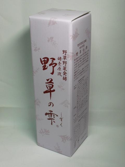 酵素ドリンク野草の雫720ml×6本【smtb-k】【w1】