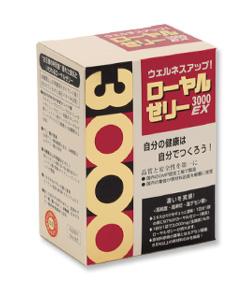 【代引・後払い不可】【同梱不可】ローヤルゼリー3000EX30袋入