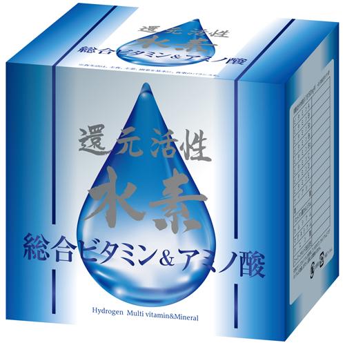 還元活性水素・総合ビタミン&アミノ酸1500mg×60包×12個【smtb-k】【w1】