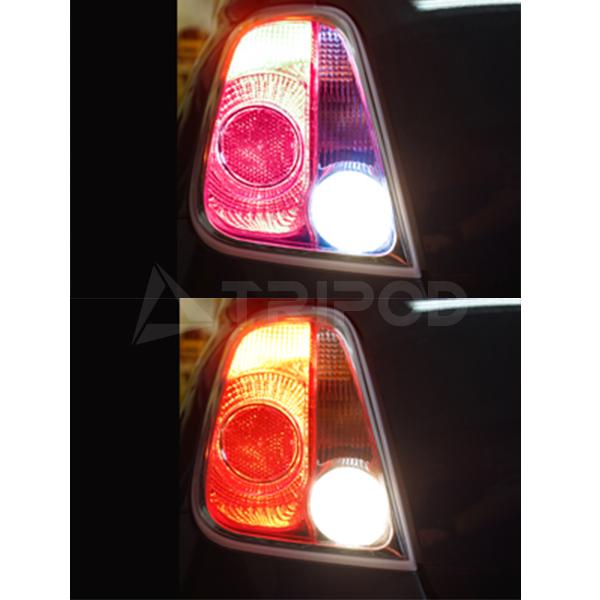 フィアット500/ アバルト LEDバックランプ純正CDデッキ付対応