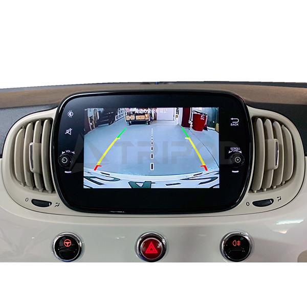 F7-IF-02 日本最大級の品揃え フィアット500 500X 新入荷 流行 アバルト595HDMI入力対応 AVインターフェース7インチUconnect付車専用