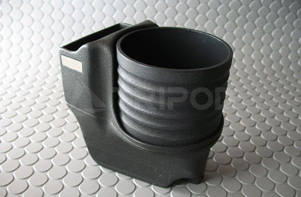 ALCABOドリンクホルダーfor PORSCHE 911(997)/Boxster(987)/Cayman(987)ブラックカップ