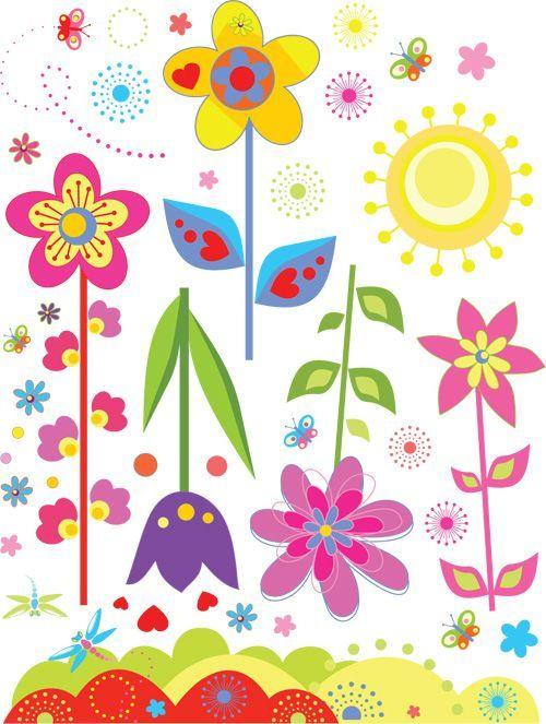 ウォールステッカー 花の国 ひまわり 壁紙 シール 世界の人気ブランド 賃貸ok はがせる 剥がせる Diy 模様替え インテリア フラワー サイケデリック ヒマワリ サン 太陽 チューリップ 蜻蛉 蝶々 カラフル ハート イラスト 向日葵 ちょうちょ バタフライ トンボ