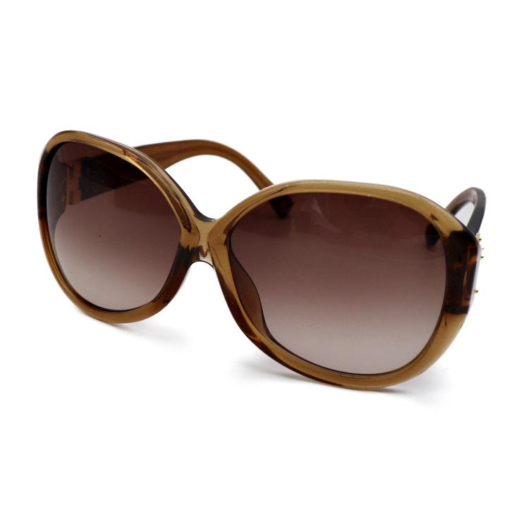 【エントリーでポイント10倍!4/9~】美品 LOUIS VUITTON ルイヴィトン スプソン オーバーサイズ サングラス Z0283E プラスチック ブラウン ゴールド ファッション 小物【本物保証】【中古】